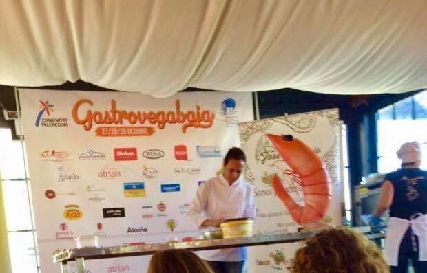 Langostino del Mar Menor en GastroVega Baja Murcia Gastronómica y FITUR 2018 2