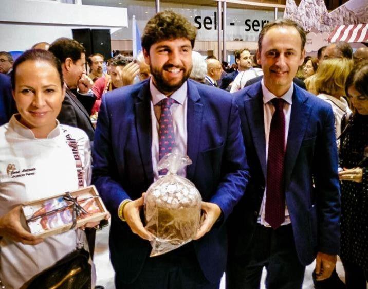 Langostino del Mar Menor en GastroVega Baja Murcia Gastronómica y FITUR 2018 6