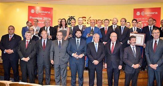 Premio Mercurio 2016 de la Cámara de Comercio de Murcia1
