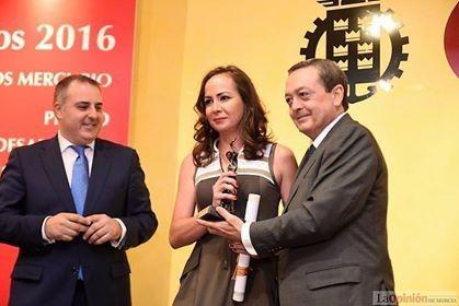 Premio Mercurio 2016 de la Cámara de Comercio de Murcia2