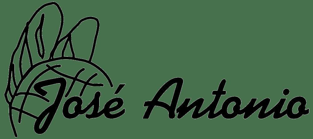 jose antonio logo negro web