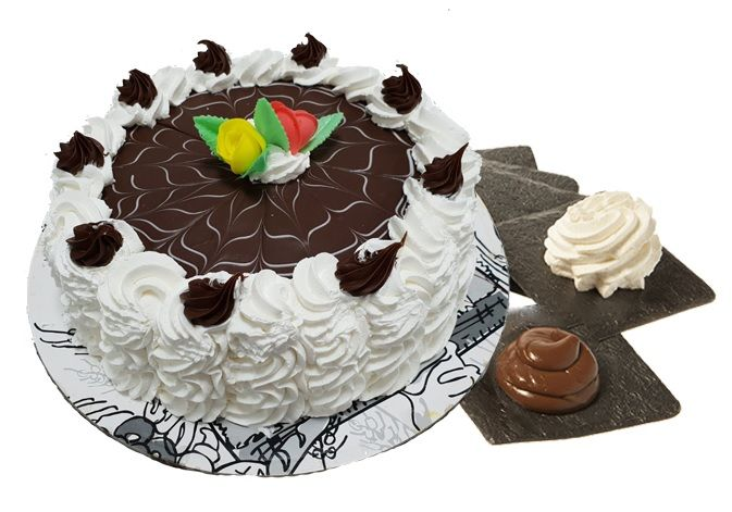 tarta nata subida y chocolate