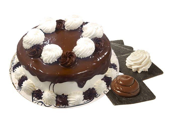 tarta nata y chocolate