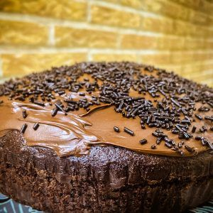 Bizcocho crema chocolate