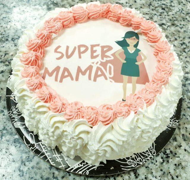Tarta Super mamá